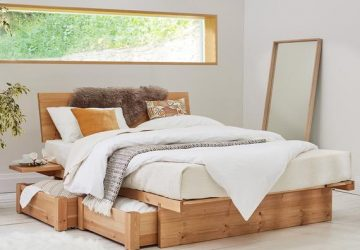 The Best Wooden Bed Frames to Complete Your Bedroom