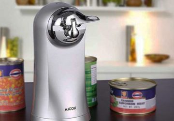 Open Cans Effortlessly With Electric Can Openers