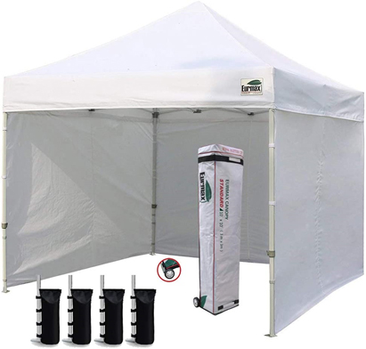 Eurmax Basic 10'x10' EZ Pop-Up Canopy Tent