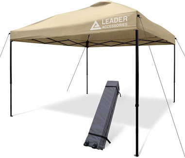 Leader Accessories 10'x10' Instant Pop-Up Canopy