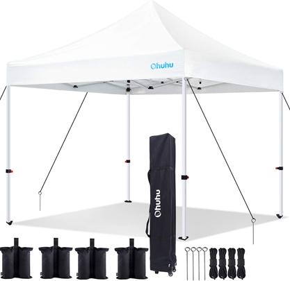 Ohuhu EZ 10'x10' Instant Shelter Pop-Up Canopy