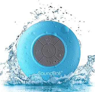 SoundBot HD Water Resistant Bluetooth Speaker
