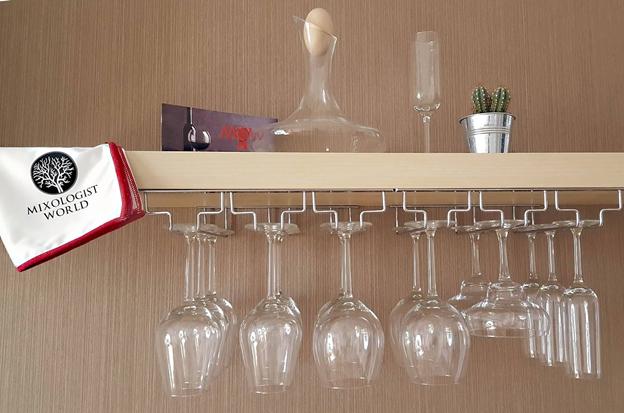 The Best Under Cabinet Wine Glass Racks