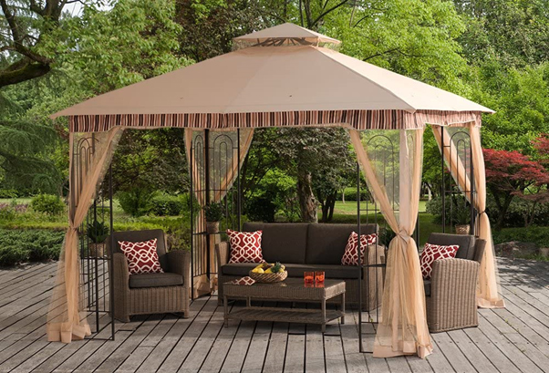 Top Soft Top Canopy Gazebo for Patios