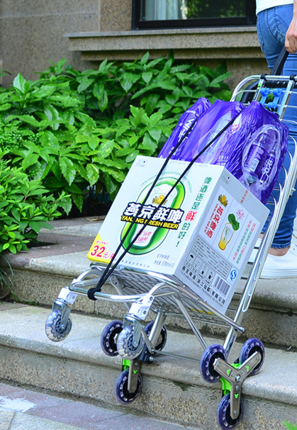 collapsible carts on wheels