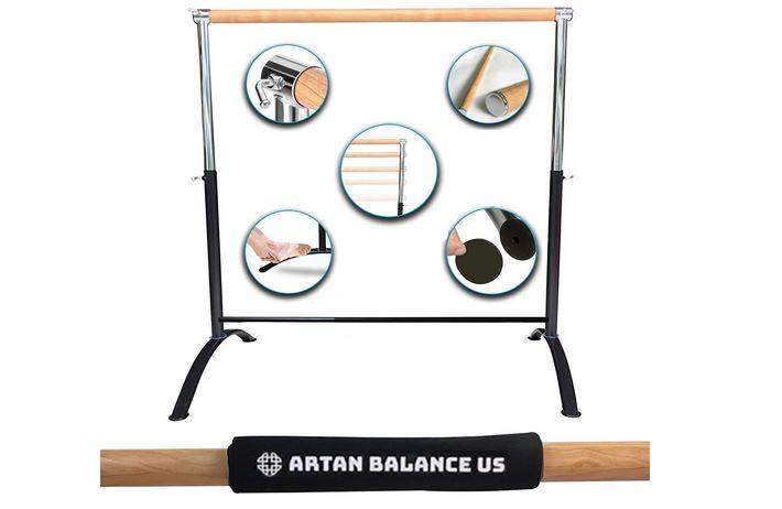 Artan Balance Portable Freestanding Adjustable Ballet Barre