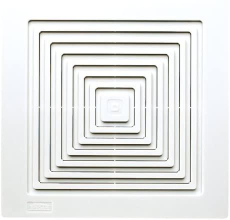 Broan-Nutone White 670 Ventilation 50 CFM Bathroom Wall-Mount Exhaust Fan