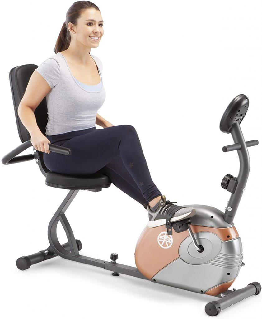 Marcy Recumbent ME-709 Indoor Exercise Bike