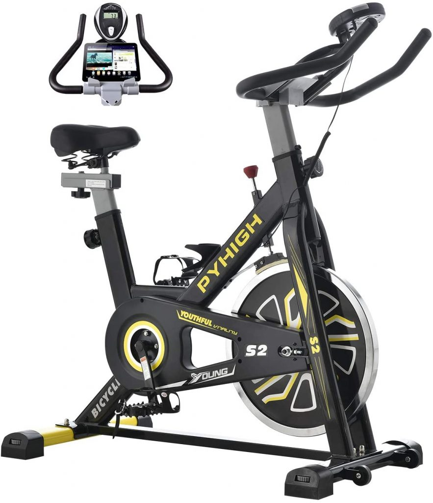 PYHIGH Indoor Self-paced Cycling Bike
