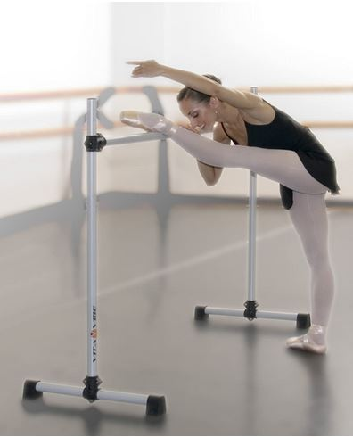 Vita Vibe Freestanding Prodigy Portable Ballet Single Barre