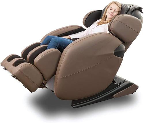 Kahuna Massage Chair Brown Full-Body Zero Gravity LM6800Recliner