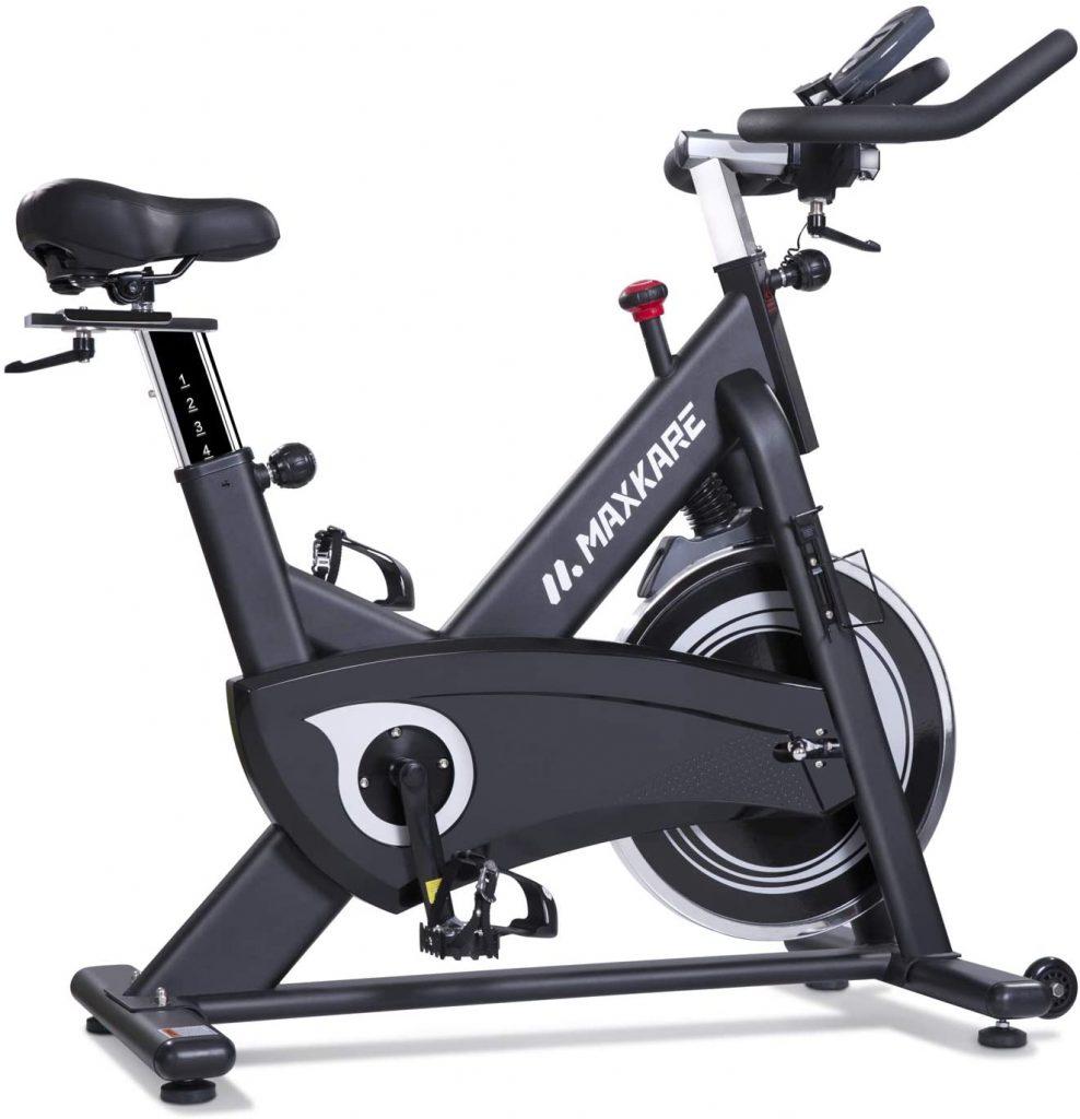 MaxKare Belt Drive Magnetic Resistance w/LCD Monitor Spin Bike