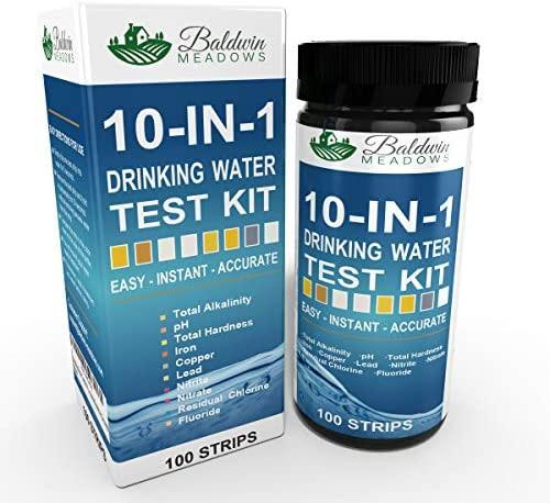 10-in-1 Drinking Water Test Kit